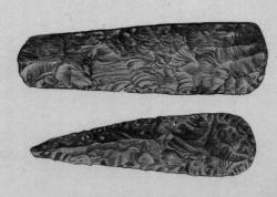 Dłuto z okresu neolitu, znalezione na terenie Anglii.