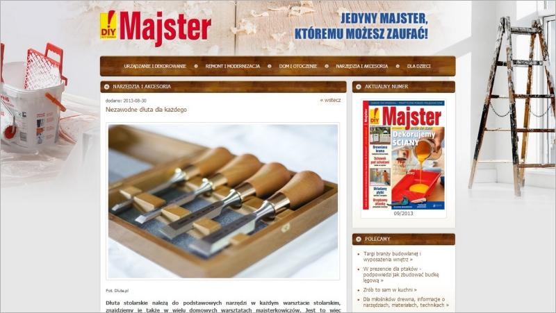 Strona wydawnictwa Majster