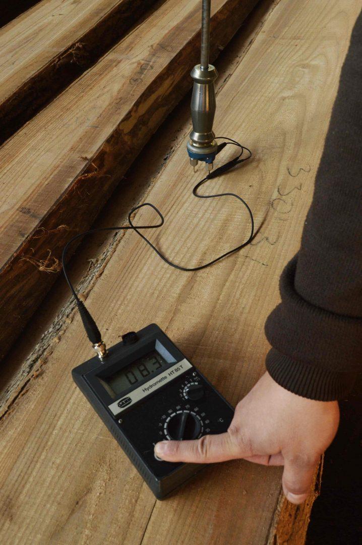 pomiar wilgotności drewna - sekowski